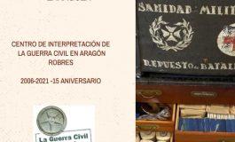 El Centro de Interpretación de la Guerra Civil de Robres inaugura una muestra sobre sanidad militar el sábado 23 de octubre a las 17 horas