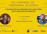 El presidente del Grupo Prisa conversará con el periodista Ignacio Escolar en el Congreso de Huesca
